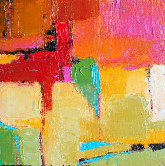"""""""Piquant"""" original fine art by Elizabeth Chapman"""