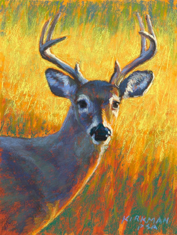 """Buck"" original fine art by Rita Kirkman"