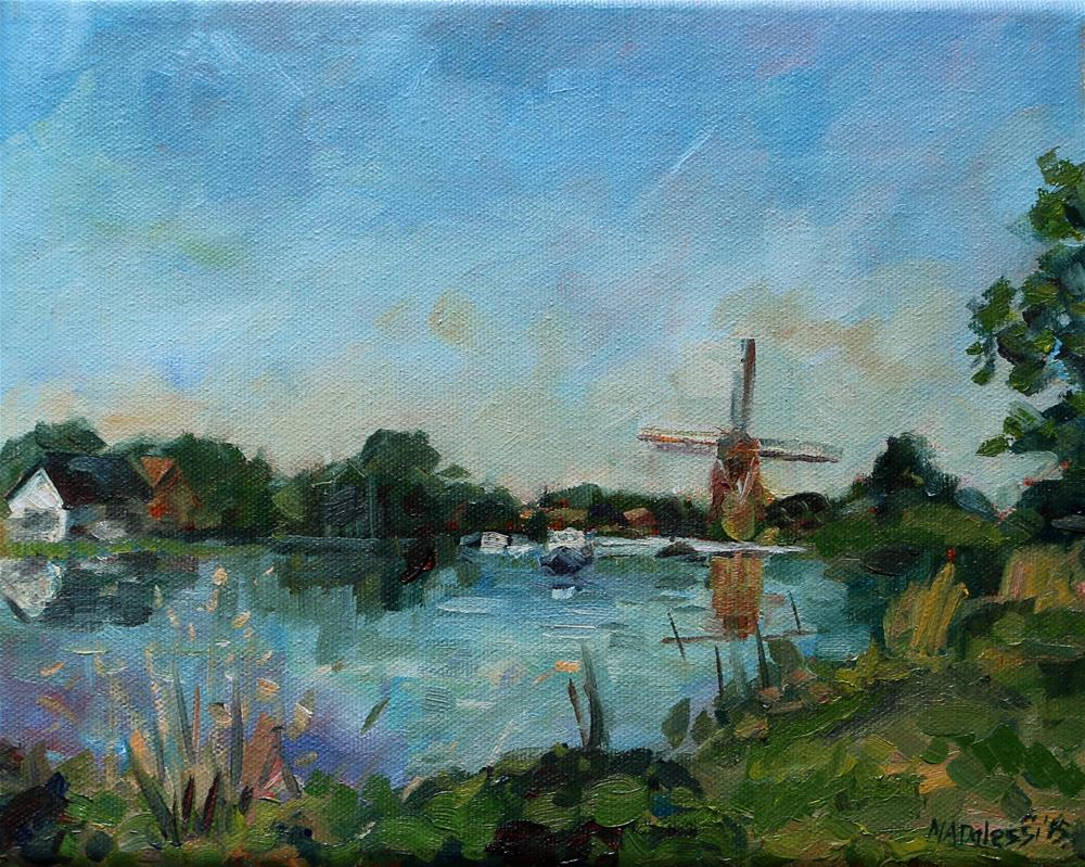 """The Rotte of Rotterdam"" original fine art by Miranda Dalessi"