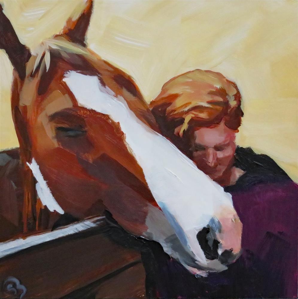 """Two Redheads"" original fine art by Shari Buelt"