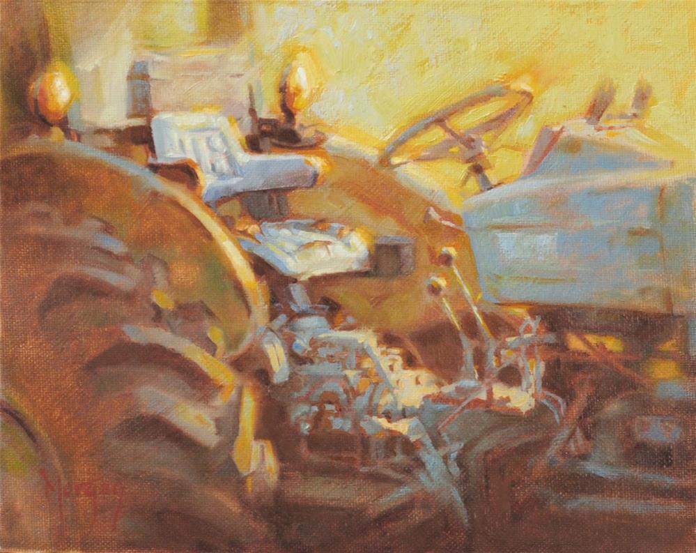"""Abandoned"" original fine art by Cecile W. Morgan"