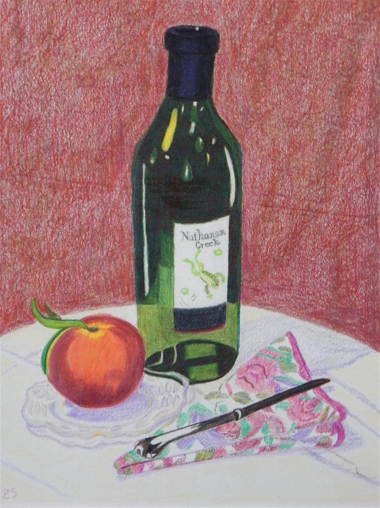 """A Little Fruit"" original fine art by Elaine Shortall"