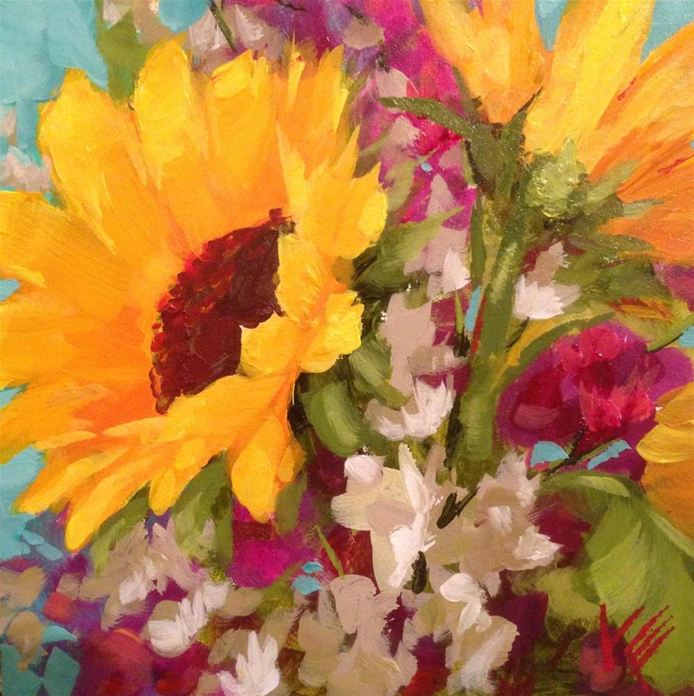 """Sweet Summer"" original fine art by Krista Eaton"