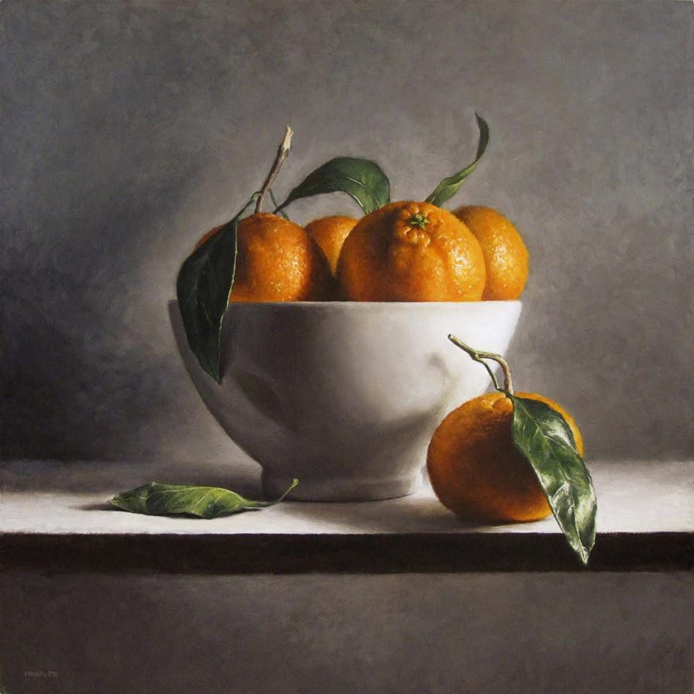 """""""Clementine Bowl"""" original fine art by Michael Naples"""