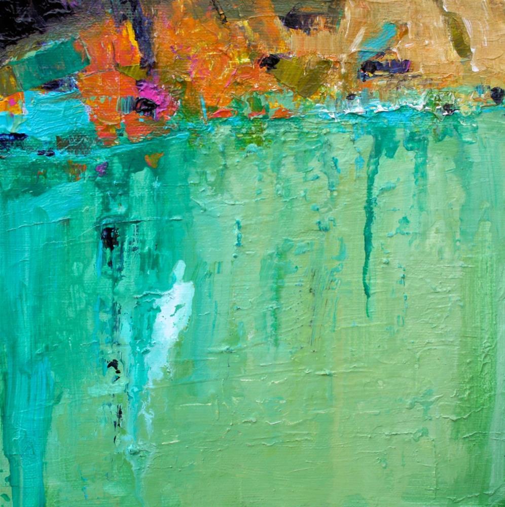"""""""Cascade"""" original fine art by Elizabeth Chapman"""
