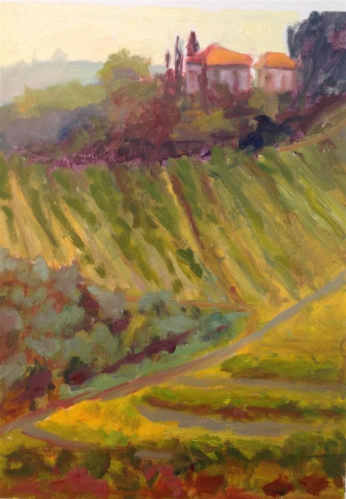 """Montepulciano"" original fine art by Marcia Bergtholdt"