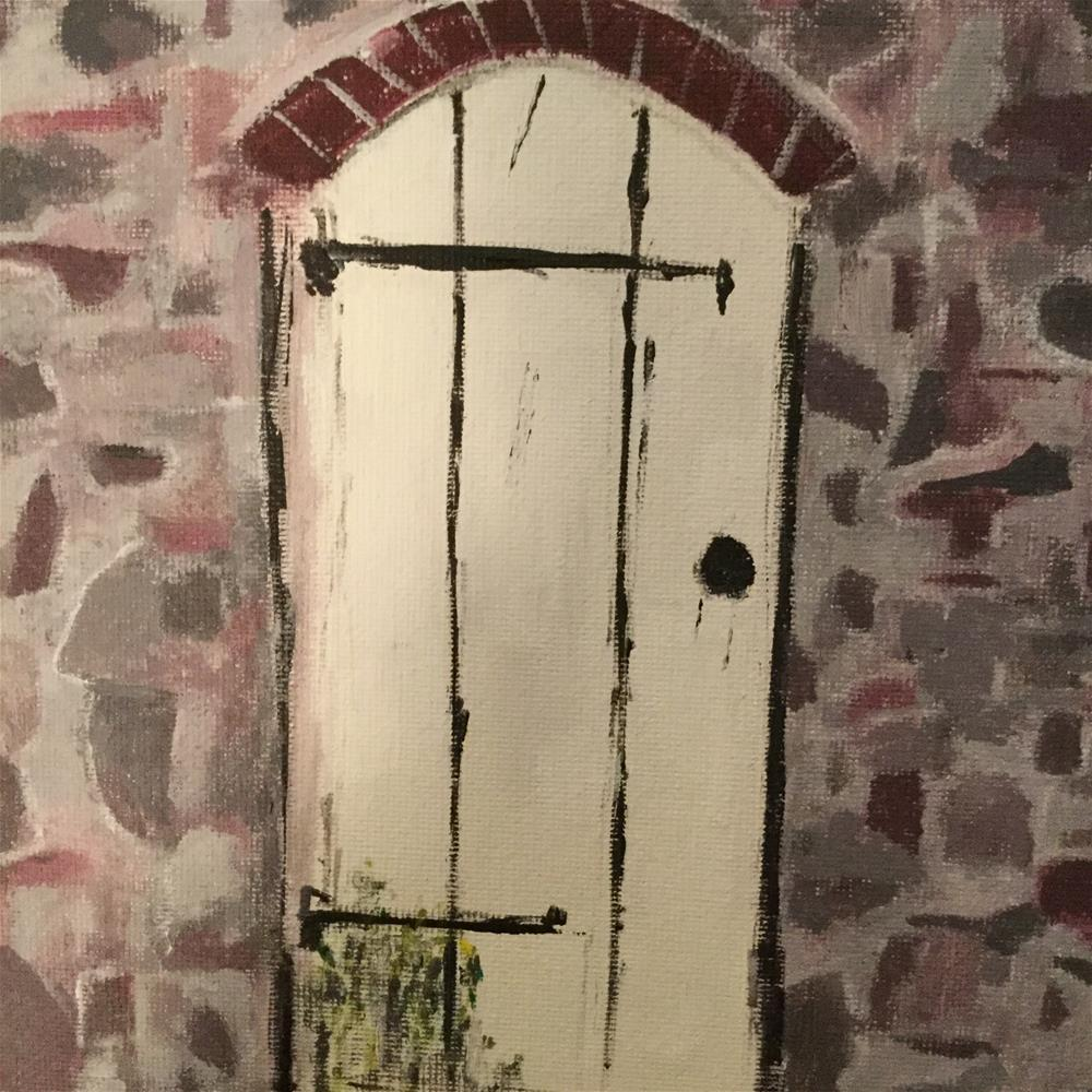 """Pennsylvania barn door"" original fine art by pamela kish"