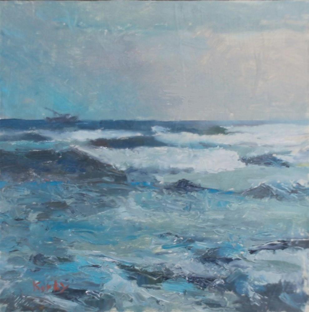 """The Sea Beckons"" original fine art by Randall Cogburn"