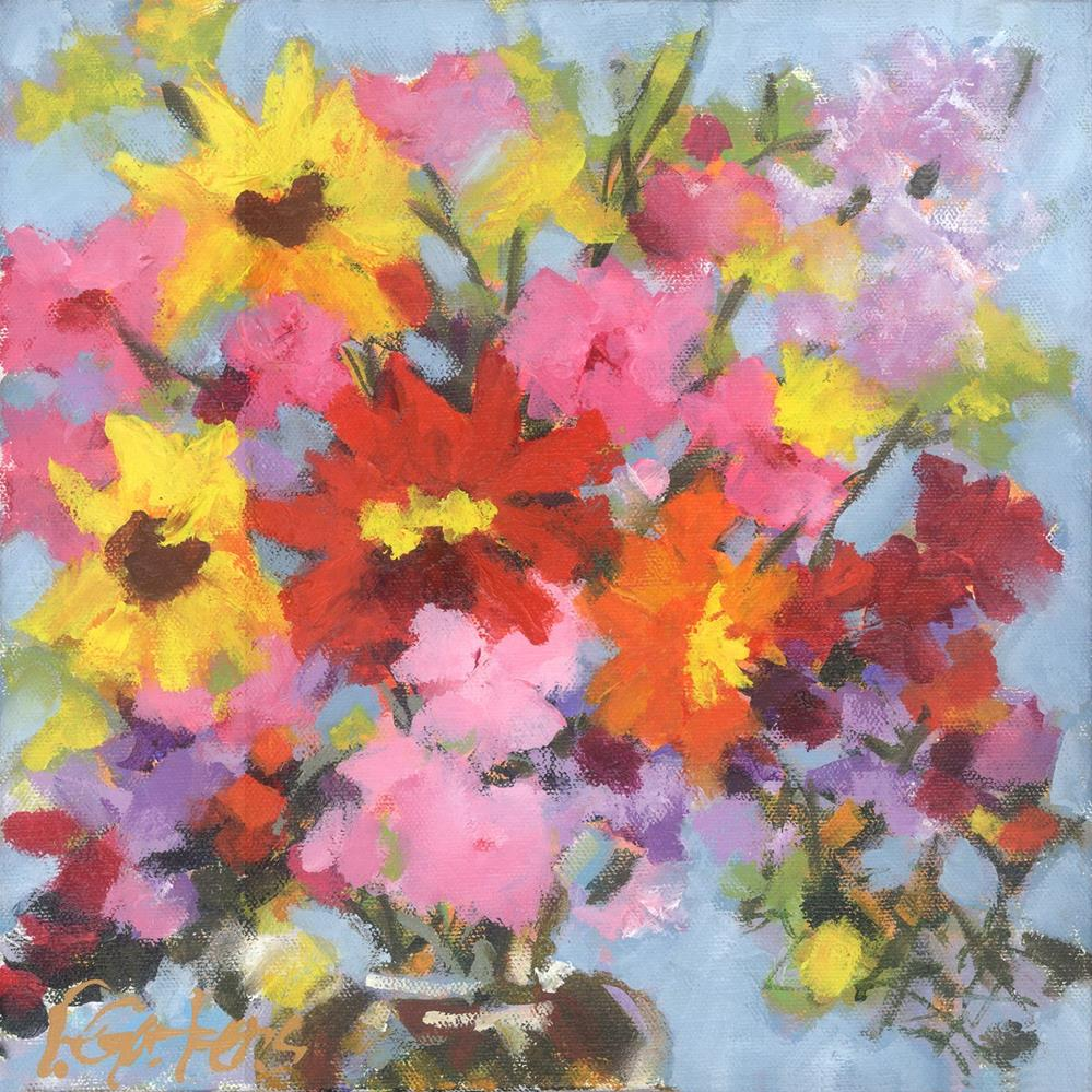 """My Millefiori"" original fine art by Pamela Gatens"
