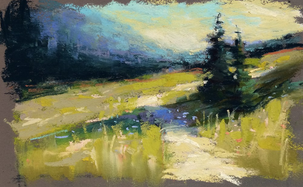 """Sunday's Light"" original fine art by Marla Baggetta"