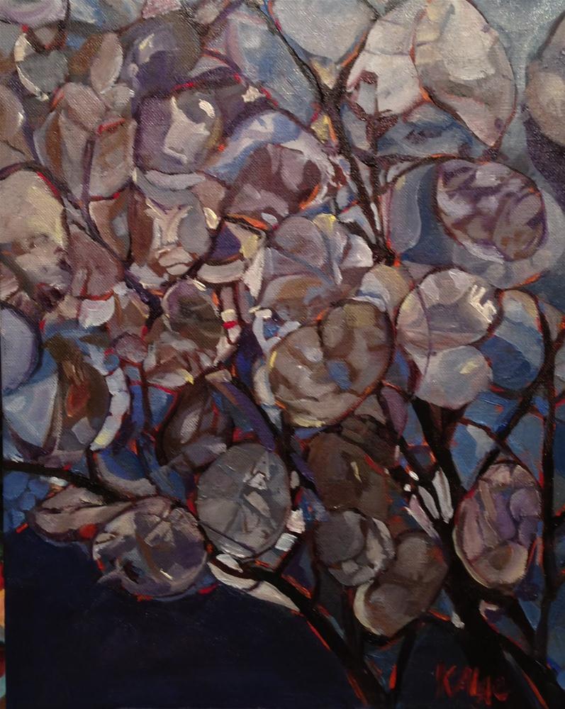 """""""Money Plants"""" original fine art by Kelly Alge"""