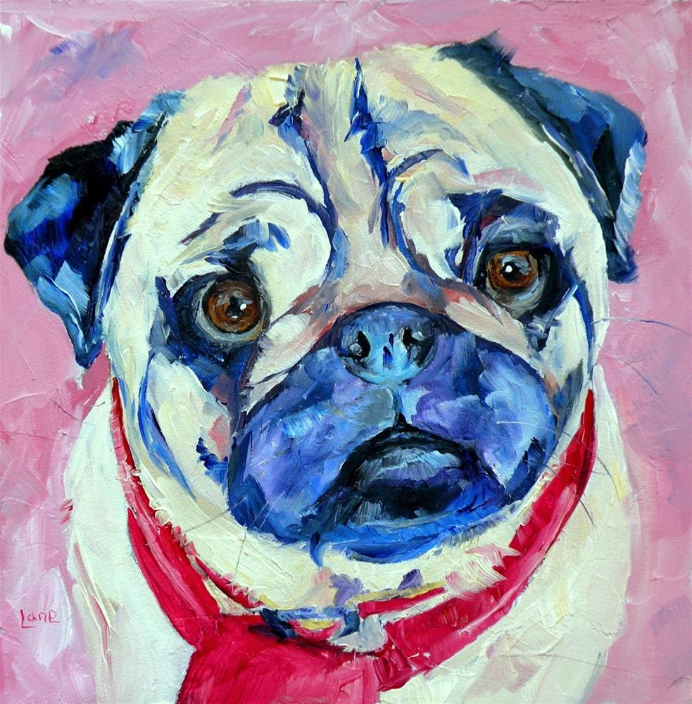 """ANNIE BEE 8/100 OF 100 PET PORTRAITS IN 100 DAYS © SAUNDRA LANE GALLOWAY"" original fine art by Saundra Lane Galloway"