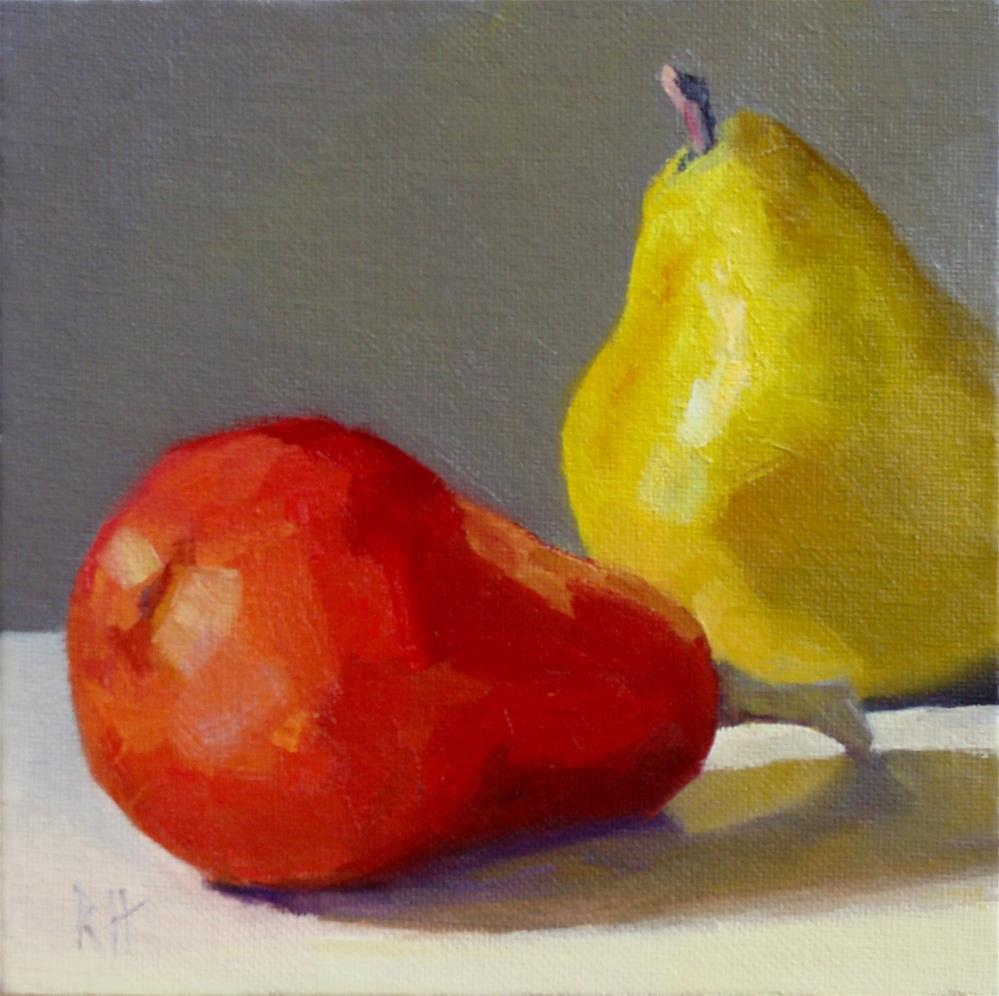 """A Pair"" original fine art by Rebecca Helton"