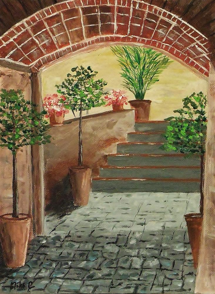 """Inner Sanctum"" original fine art by Mike Caitham"