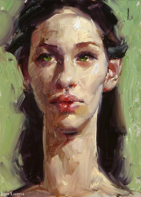 """""""Lengthy"""" original fine art by John Larriva"""
