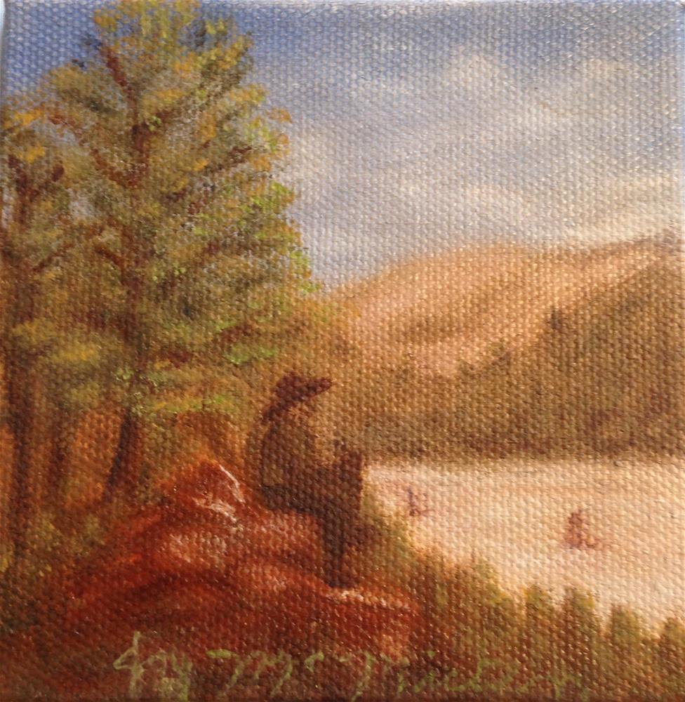 """Remember When"" original fine art by Joy McMicken"