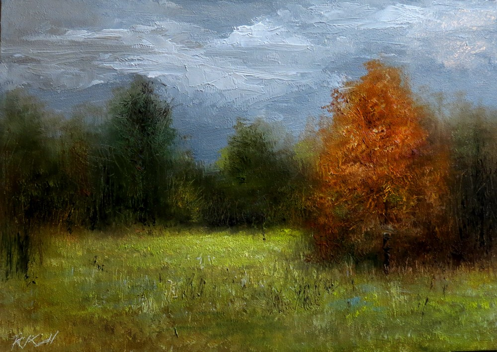 """The Small Clearing"" original fine art by Bob Kimball"