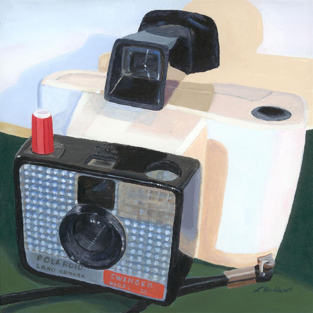 """Meet the Swinger"" original fine art by Lynne Reichhart"