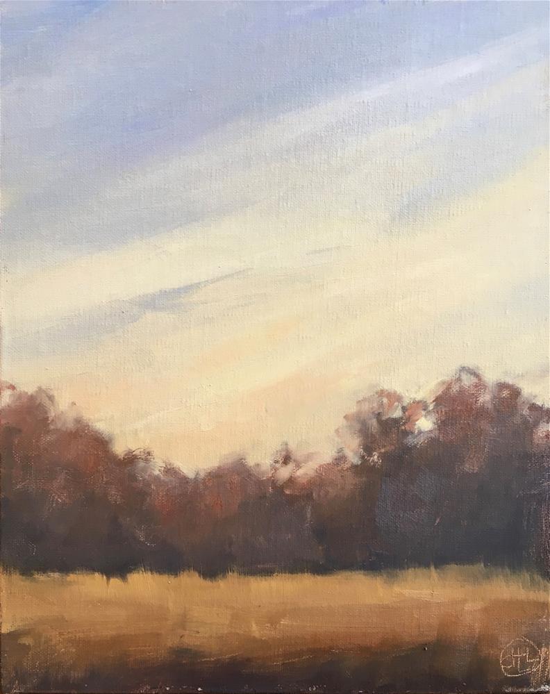 """""""looking southwest"""" original fine art by Dottie  T  Leatherwood"""
