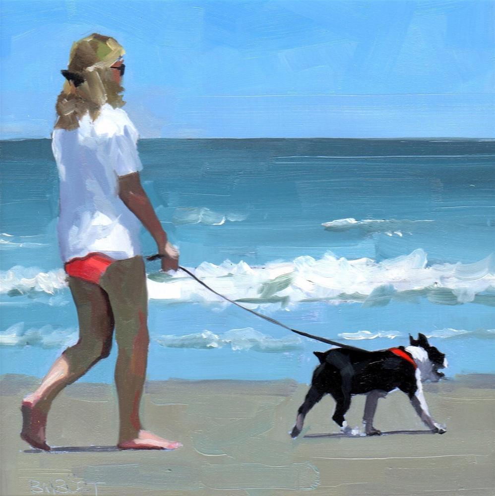 """#293 Taking The Lead"" original fine art by Brian Burt"