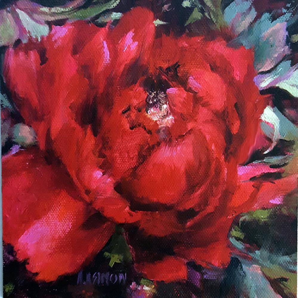 """Barrington Belle"" original fine art by A.K. Simon"