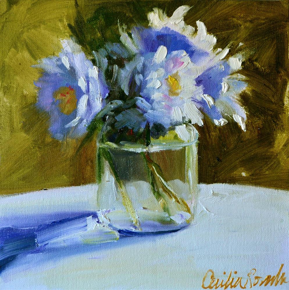"""VELDBLOMME"" original fine art by Cecilia Rosslee"