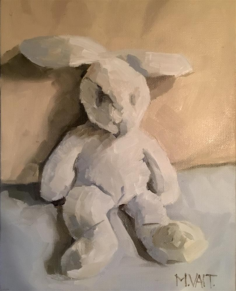 """Bunny"" original fine art by Milda Vaitiekunaite"