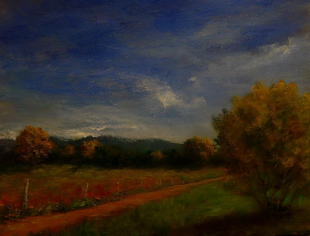 """Field of Dreams"" original fine art by Sharon Kay Baker"