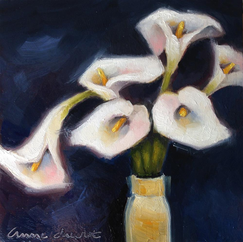 """Calla Bouquet"" original fine art by Anne Ducrot"