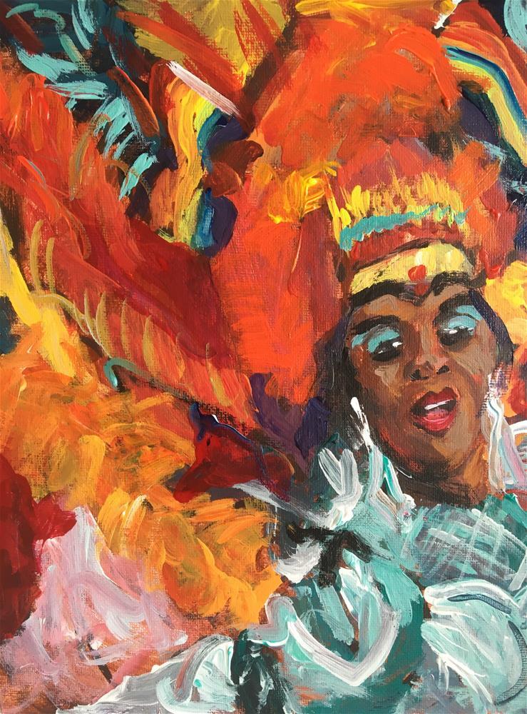 """""""Pride Parade"""" original fine art by Susan Elizabeth Jones"""