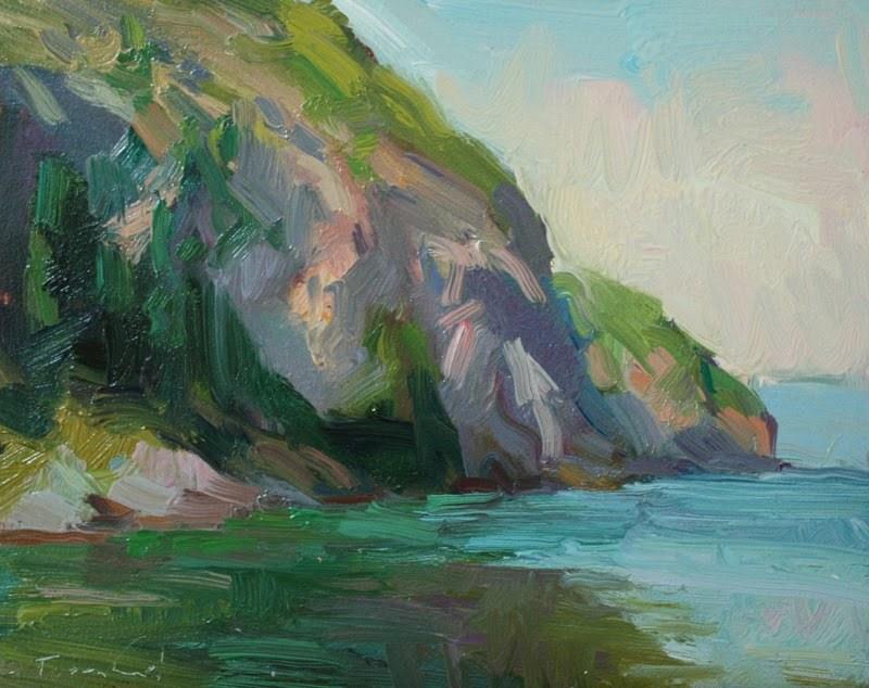 """Watmough Bay"" original fine art by Kathryn Townsend"