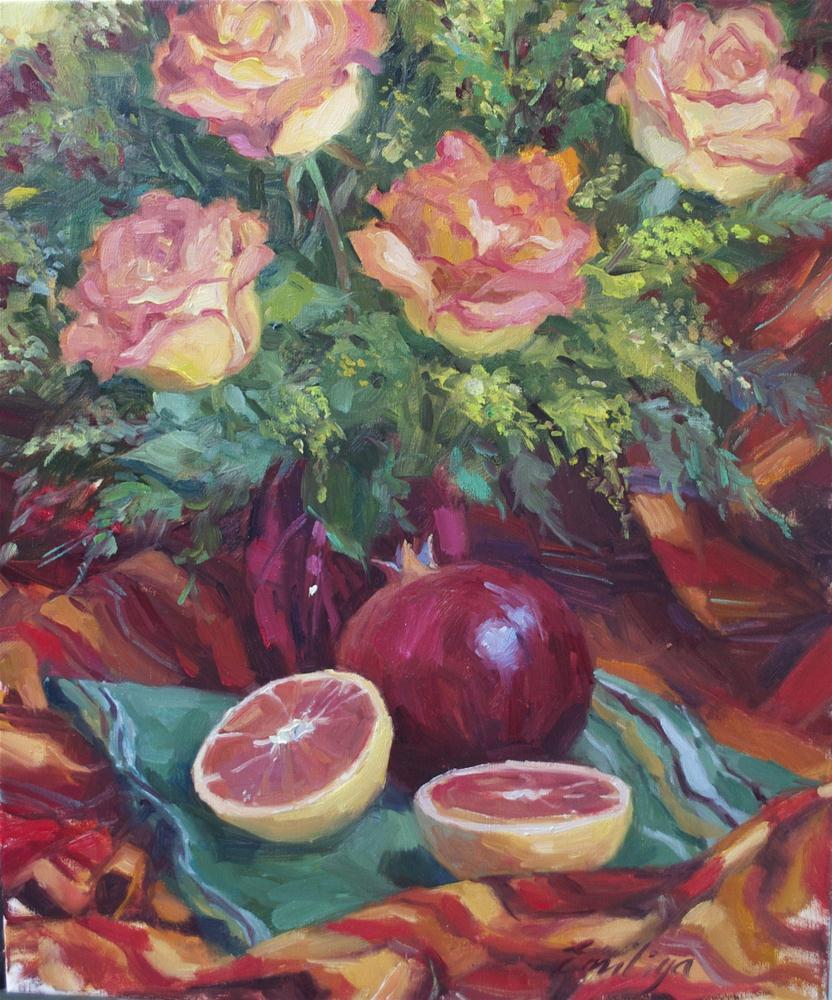 """Sudden December oil on linen, 24x20 SOLD"" original fine art by Emiliya Lane"