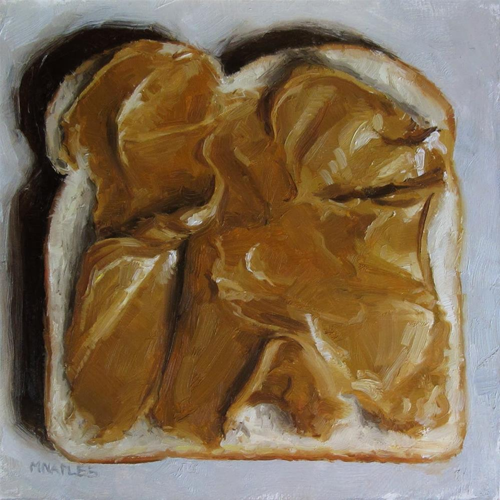 """Peanut Butter"" original fine art by Michael Naples"