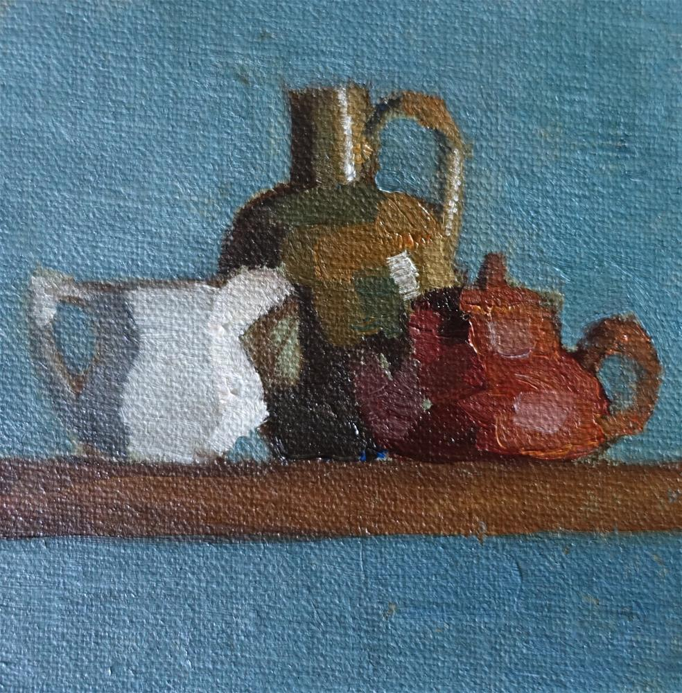"""still life: color study"" original fine art by Sarah Meredith"