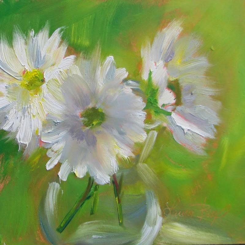 """Lazy Daisy Days"" original fine art by Laura  Buxo"