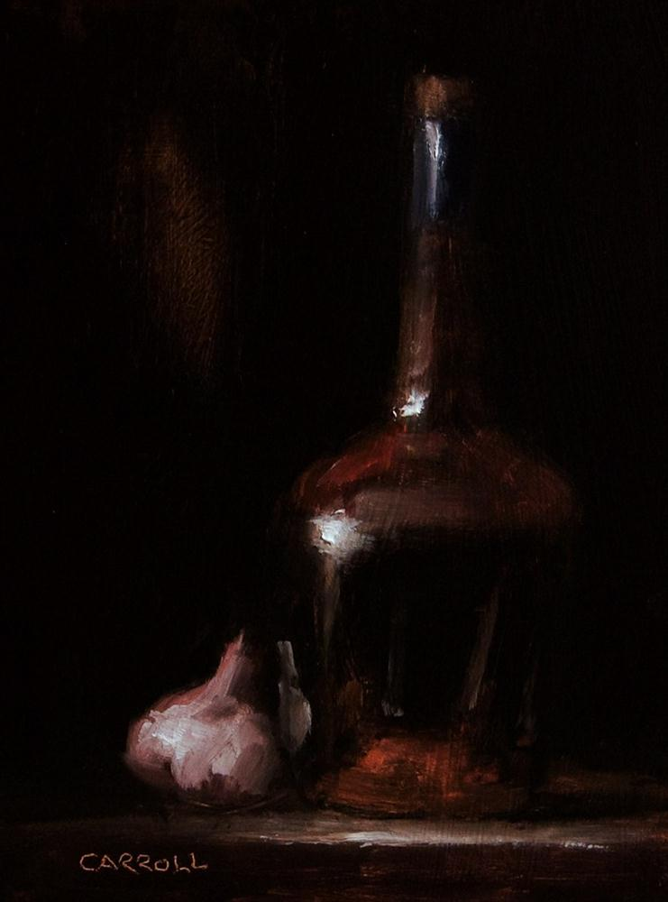 """Cognac and Garlic"" original fine art by Neil Carroll"