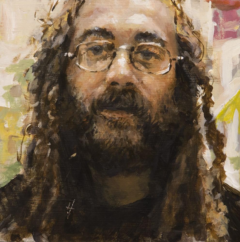 """Kevin sketch"" original fine art by Harry Burman"