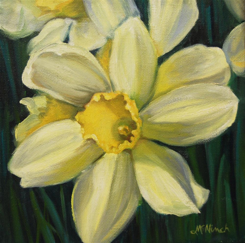 """Daffodils"" original fine art by Michel McNinch"