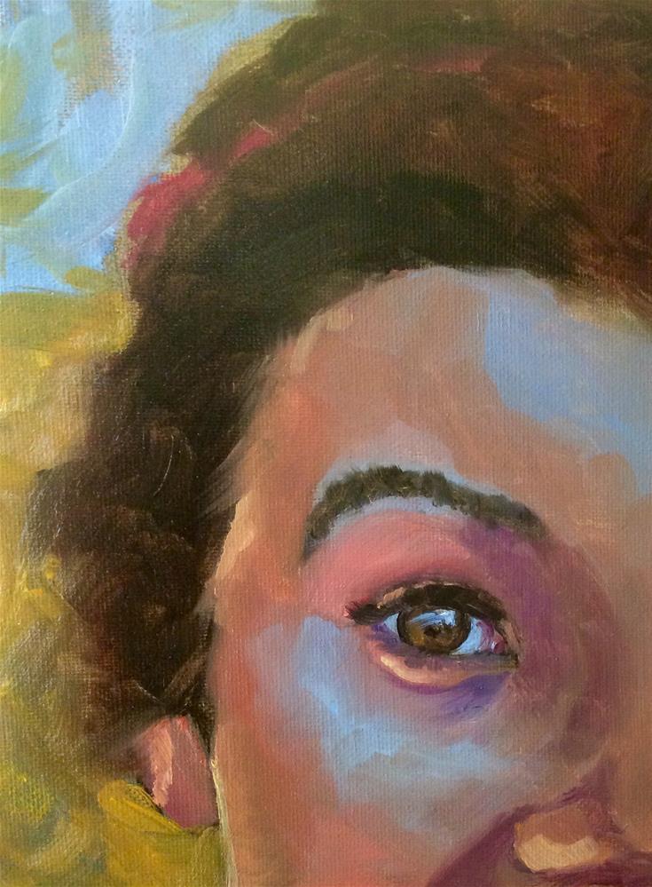 """""""Eye study 1"""" original fine art by Lori Jacobs - Farist"""