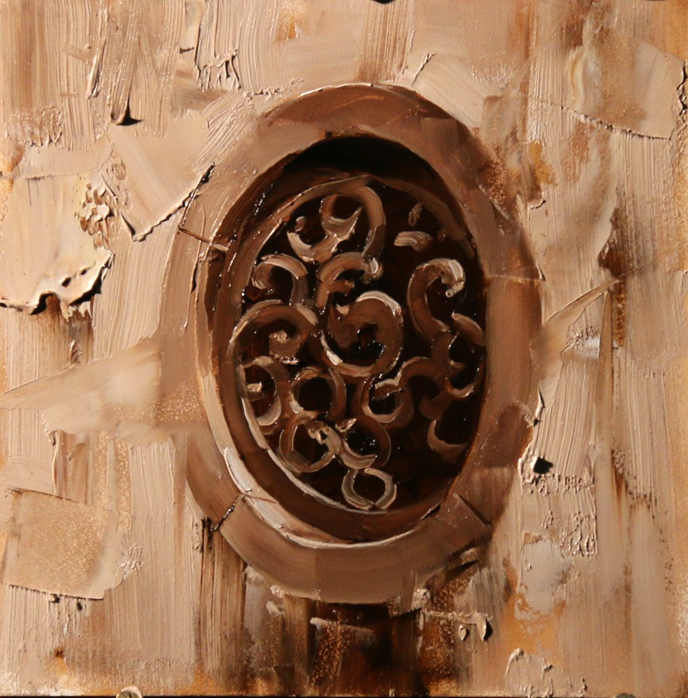 """Xidi Carved Window 1"" original fine art by Qiang Huang"