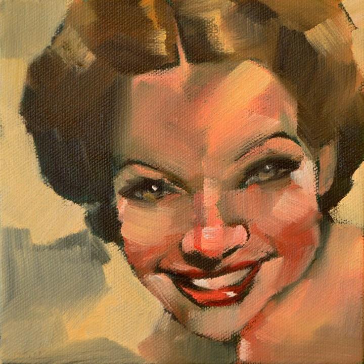 """Miranda"" original fine art by Cheryl Wilson"