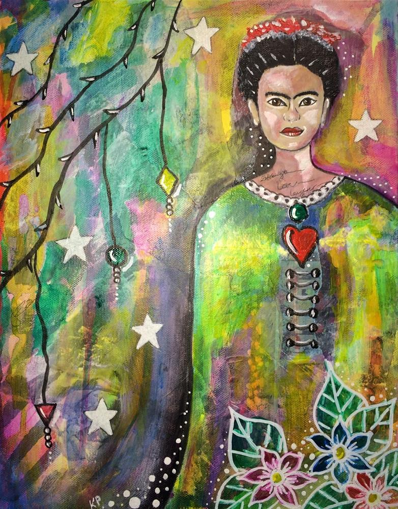 """The Many Layers of Frida"" original fine art by Kali Parsons"