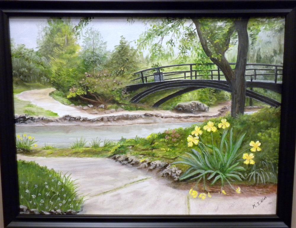 """""""Lafayette Park"""" original fine art by Marti Idlet"""