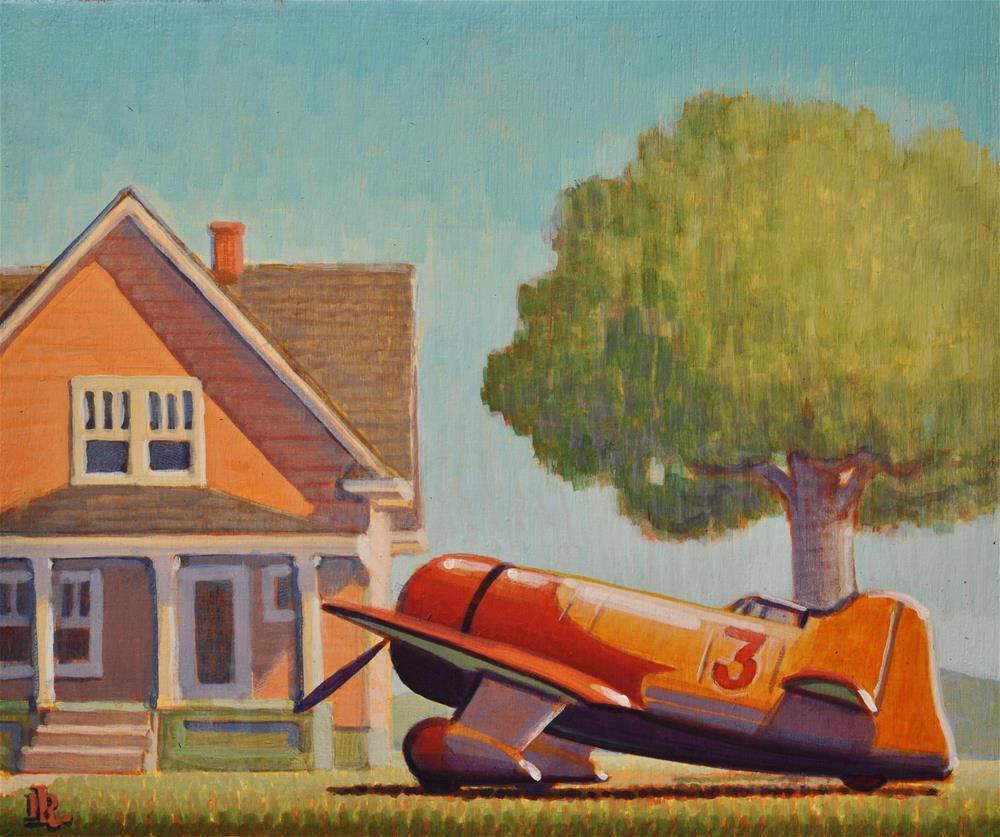 """Lunch Break"" original fine art by Robert LaDuke"