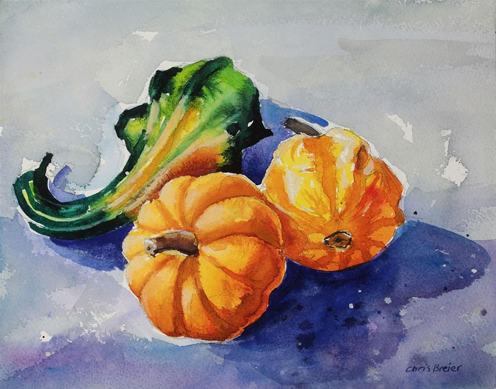 """Gourds"" original fine art by Chris  Breier"