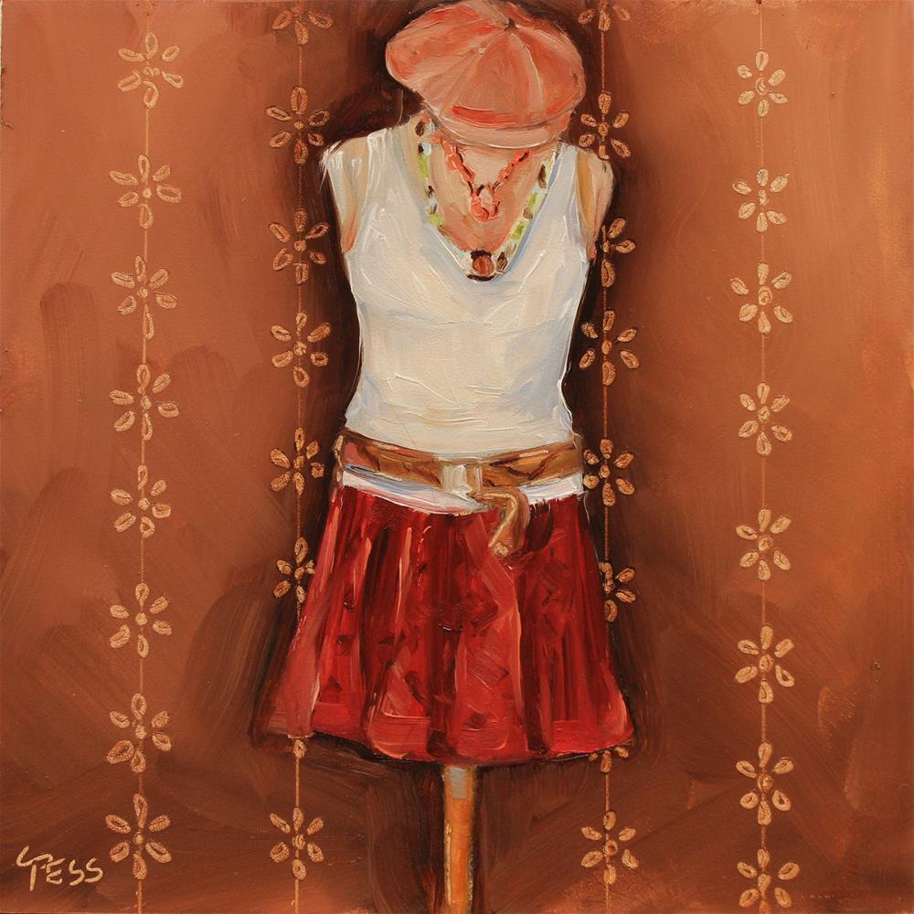 """""""Uptown Girl- Billy Joel"""" original fine art by Tess Lehman"""