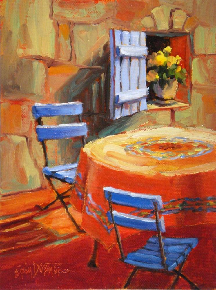"""French Melody"" original fine art by Erin Dertner"