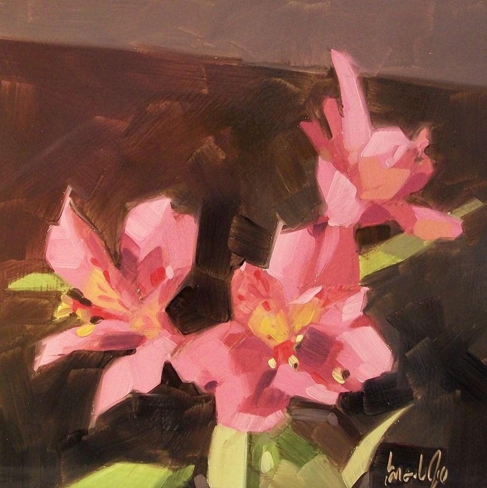 """My three girls"" original fine art by Brandi Bowman"