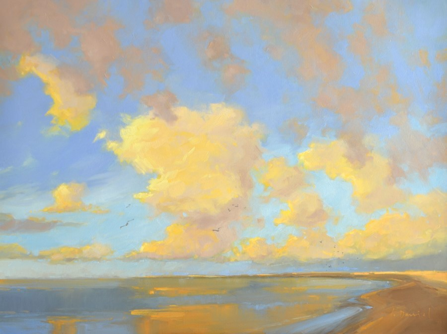 """Sunrise Glow - Show Tip #25"" original fine art by Laurel Daniel"