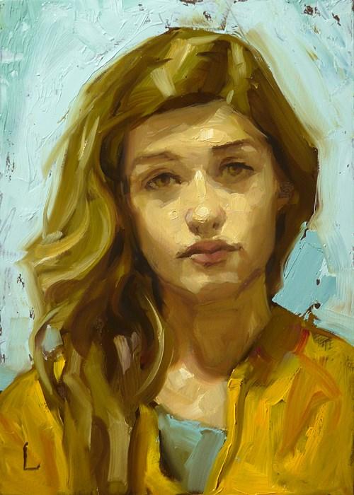 """Sunbeam"" original fine art by John Larriva"